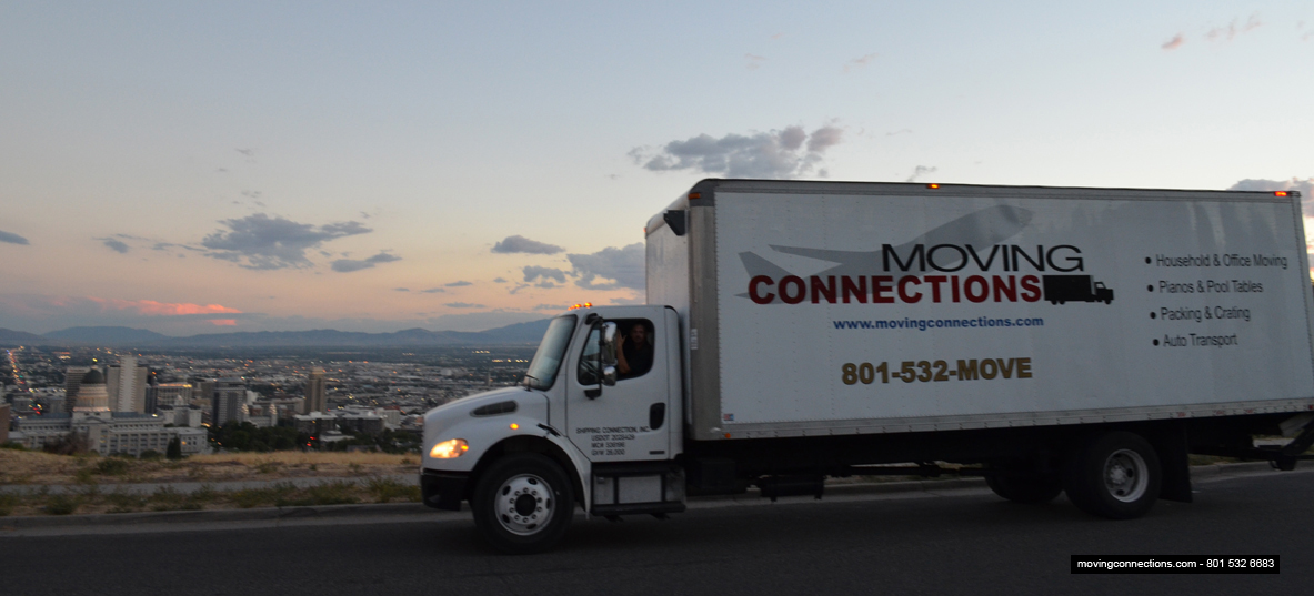 Moving Connections' truck
